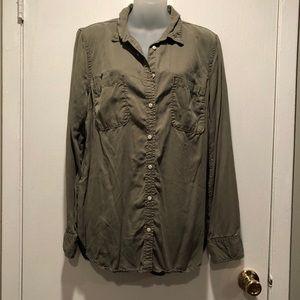 MERONA Women's Button Down Shirt